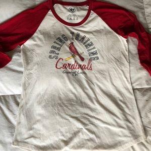 47 Brand Cardinals Beseball Tee